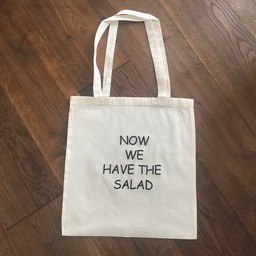 Now we have the salad